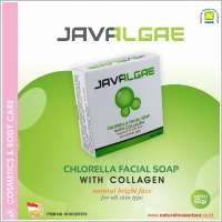 Javalgae - Chlorella Facial Soap With Collagen