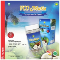 VCO Mutia Nasa ( Virgin Coconut Oil Capsules )