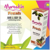 Moreskin Hand dan Body Oil Fresh