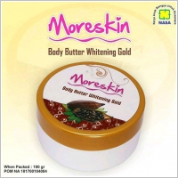 MORESKIN Body Butter Whietning Gold