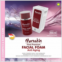 Moreskin First Facial Foam Nasa